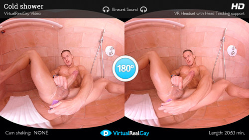 Virtual Real Gay - Cold Shower (Android/iPhone) Gay 3D stereo