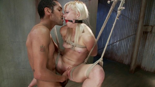 Cute Young Blonde Overwhelmed with Bondage and Cock(Elyssa Greene, Mickey Mod)
