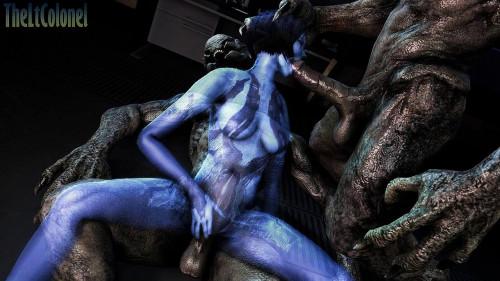 Cortana ( Halo ) 3D Porno