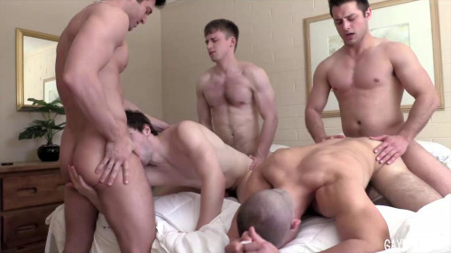 Hot Friends In Amazing Orgy
