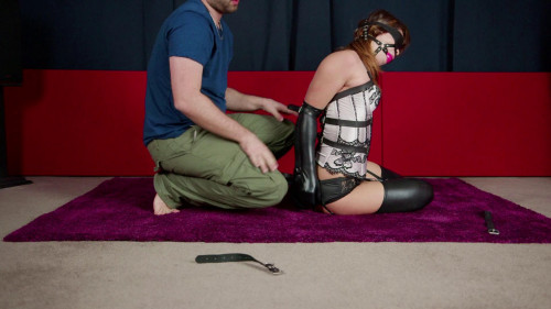 Hogtied Steward - Domination HD BDSM