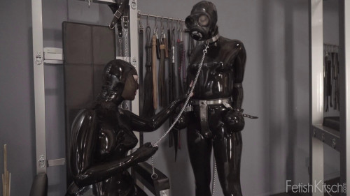 Out For A Walk 1080P BDSM Latex