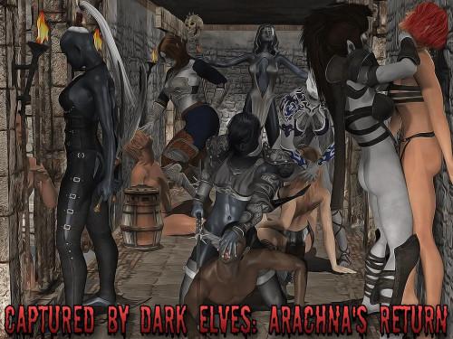 Captured By Dark Elves: Arachna's Return Ep.1 Porn games