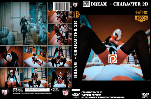 Dream (character 2B NieR- Automata) 3D Porn