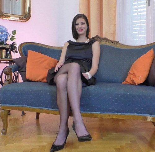 Mimi - Seamed Stockings and Heels FullHD 1080p