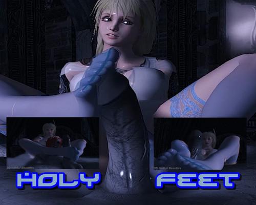 Holy Feet 3D Porn