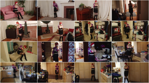 Bound and Gagged – Frightened Captive Tries to Escape