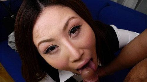 Rei haruka asks a colleague to fuck her like eager