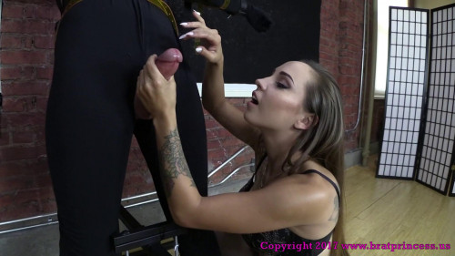 Sasha - 15 Minutes on the Edge with Huge Ruined Cumshot Femdom and Strapon