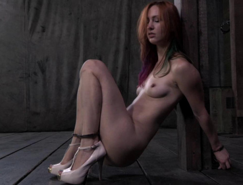 Welcome Bondage For Cute Redhead Slave
