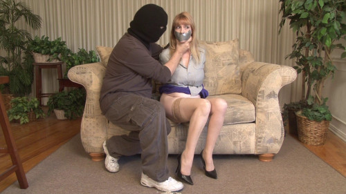 Lorelei is Blackmailed Part 1 - Bound and Gagged