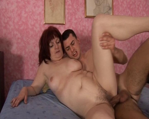 Nasty cougar redhead Old and Young