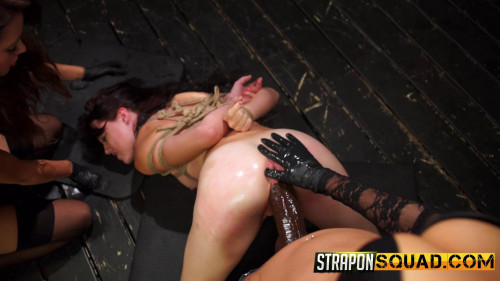 StraponSquad Kaisey Dean, Marina Angel And Esmi Lee BDSM