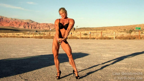 Lisa Giesbrecht 12 Red Rock HD Female Muscle
