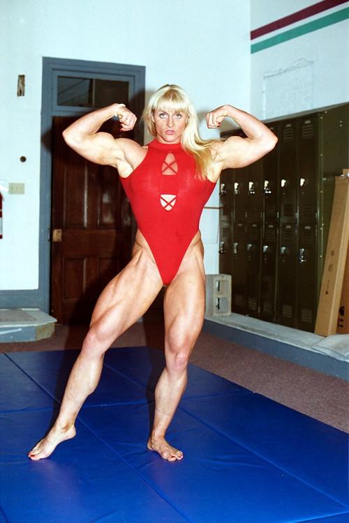 Joanne Lee vs Steve Real Mixed Wrestling (1995)