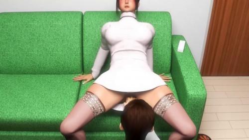 Sakura-mama and Taro-chan 3D Porno