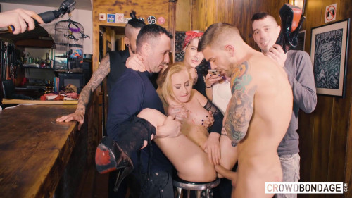 Helena Valentine - Domination and cum in mouth (2018) Public sex