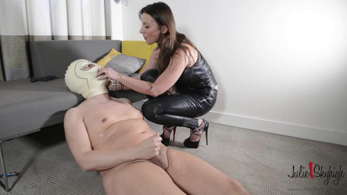 Julie Skyhigh european deputy julie's slave part two assfucking strap-on (2015) Femdom and Strapon