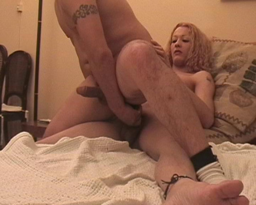 Ass-banged by tranny