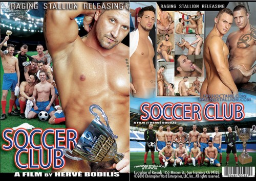 High Octane - Raging Stallllion - Soccer Club Gay Movie