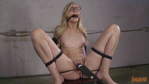 Sexy Blonde Librarian BDSM