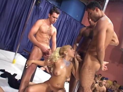 Brazilian Bukkake part 2 Sex Orgy