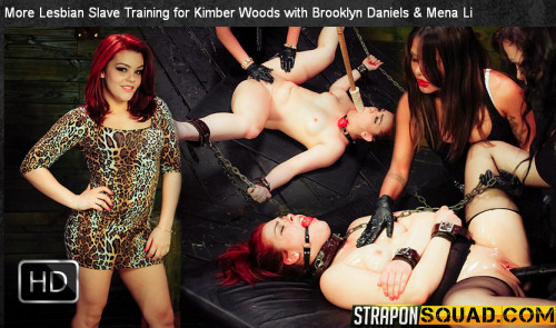 Straponsquad - Apr 03, 2015 - More Lesbian Slave Training