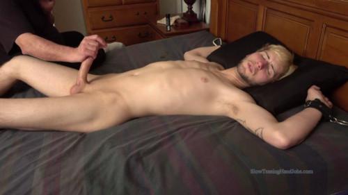 SlowTeasingHandJobs - Nick Gets a Very Long Edging - Part 2 Gay BDSM