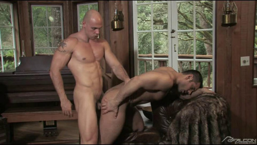 Secluded cabin in the woods Gay Movies