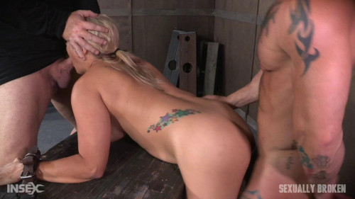 Angel Allwood Bent Over and Roughly Fucked In Belt Bondage! BDSM