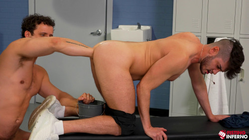 Nate Grimes, Ace Stallion - Gym Hole Tryouts, Scene 01 (2021)