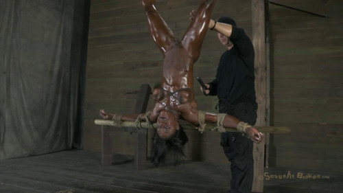 Rough Punishment For Black Bodybuilder