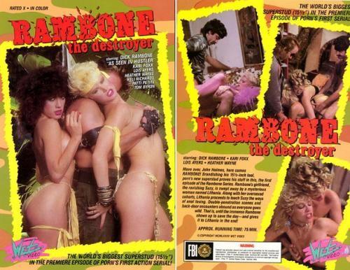 Rambone The Destroyer (1985) - Kari Foxx, Rachel Ryan, Keli Richards Vintage Porn