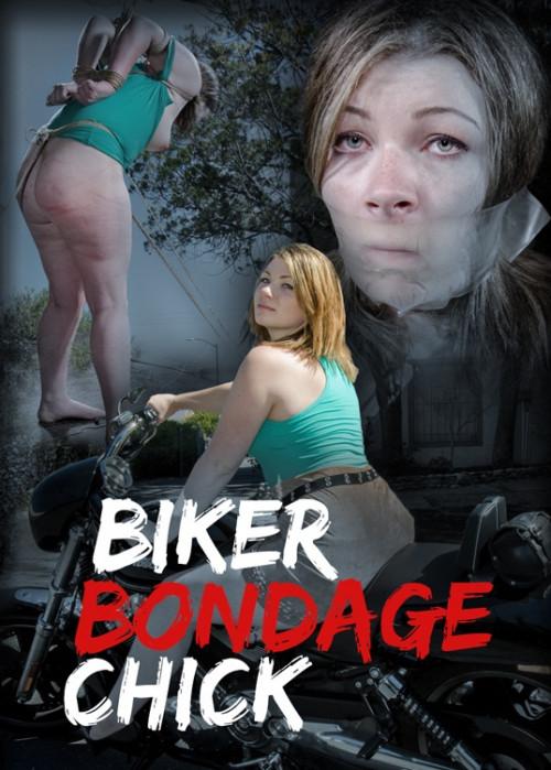 Biker Bondage Chick-Harley Ace