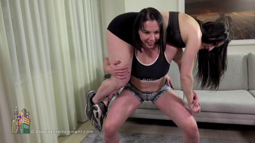 Miss Monrow Lift and Carry Lifting Velvet Lane (2018) Female Muscle