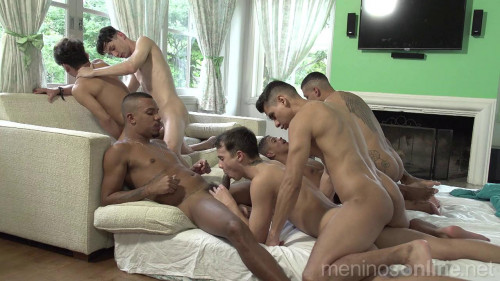Meninos OnLine - Suruba Teen House Boys