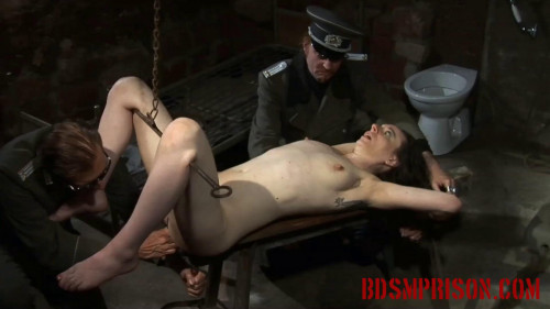 Extreme - Nadjas BDSM Interrogation Involves a Rusty Hook & her Pussy