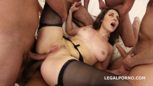 5on1 Welcome to Porn Gangbang with Double Anal