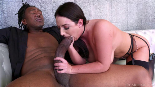 Angela White Takes Dredd's Huge BBC In Her Backdoor