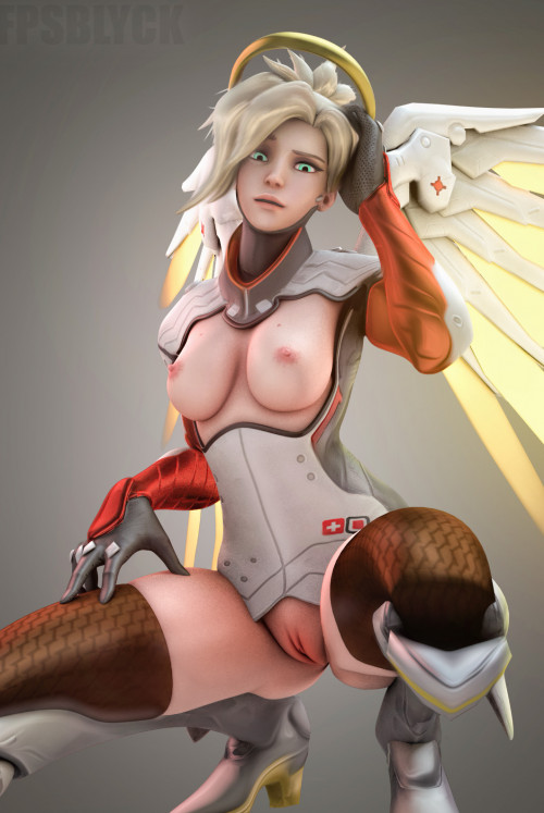 Mercy ( Overwatch ) assembly 3D Porn