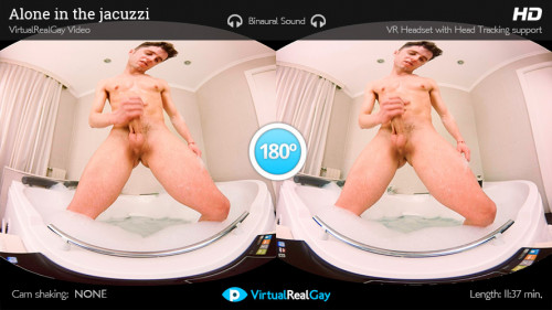 Virtual Real Gay - Alone In The Jacuzzi