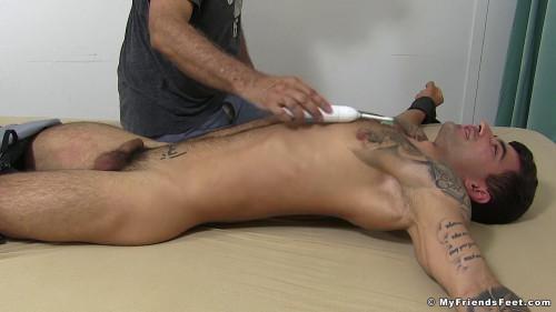 Vadim Tickled Naked