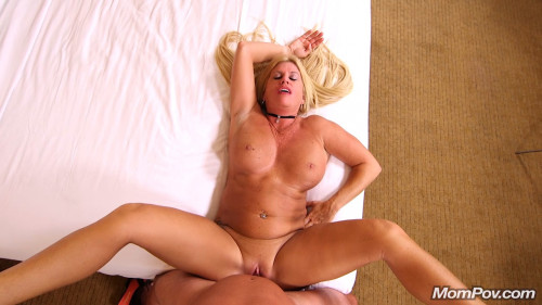Thick blonde horny milf Gonzo (Point Of View)