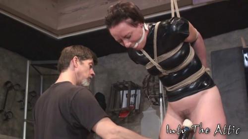 Bondage, strappado, spanking and torture for naked girl Full HD 1080p BDSM Latex