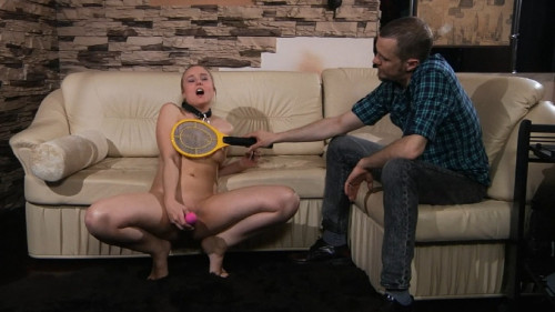 Bondage, domination, spanking and torture for hot naked slut
