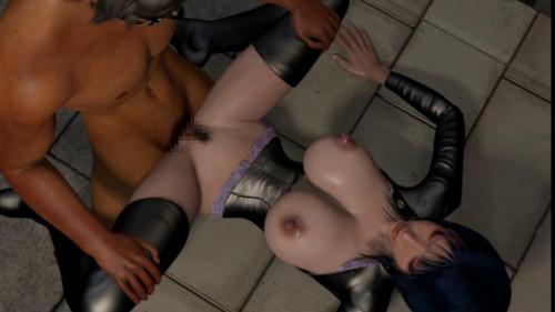 Robinson kuruu onna koukogakusha kyousei niku dorei 3D Porno