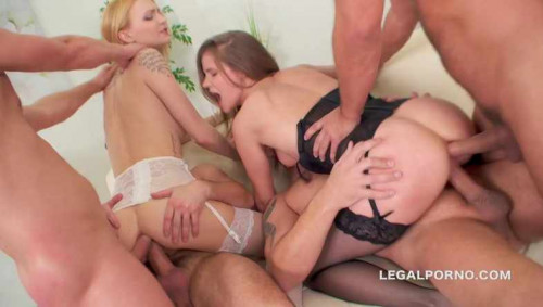 Double Addicted Gangbang