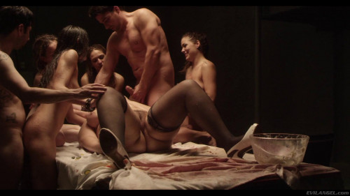 A Hot Naked Bodies Lick, Eat, Fuck And Suck Sex Orgy