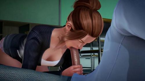 The Casual Student 3D Porno
