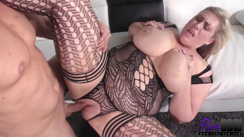 Lila Lovely - Amazon Blonde Takes It In The Ass Like A Champ (2017)